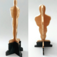Free 3D printer model Oscar, 3d printable trophy, 3dlito