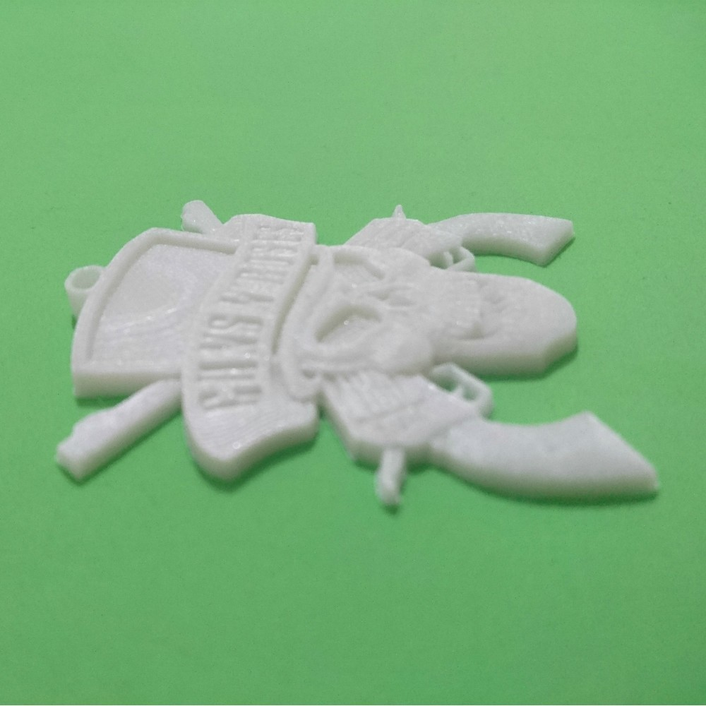 key.jpg Download free STL file Guns N 'Roses Keychain • 3D printing model, 3dlito
