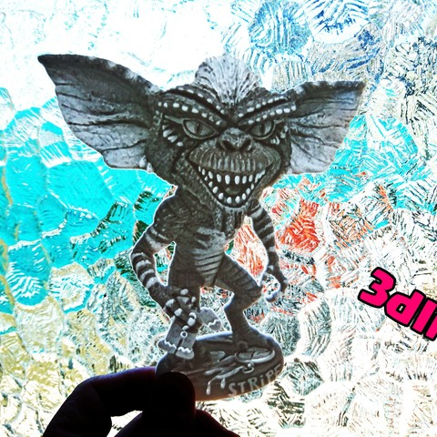 Free 3D printer file Gremlin litophane, 3dlito