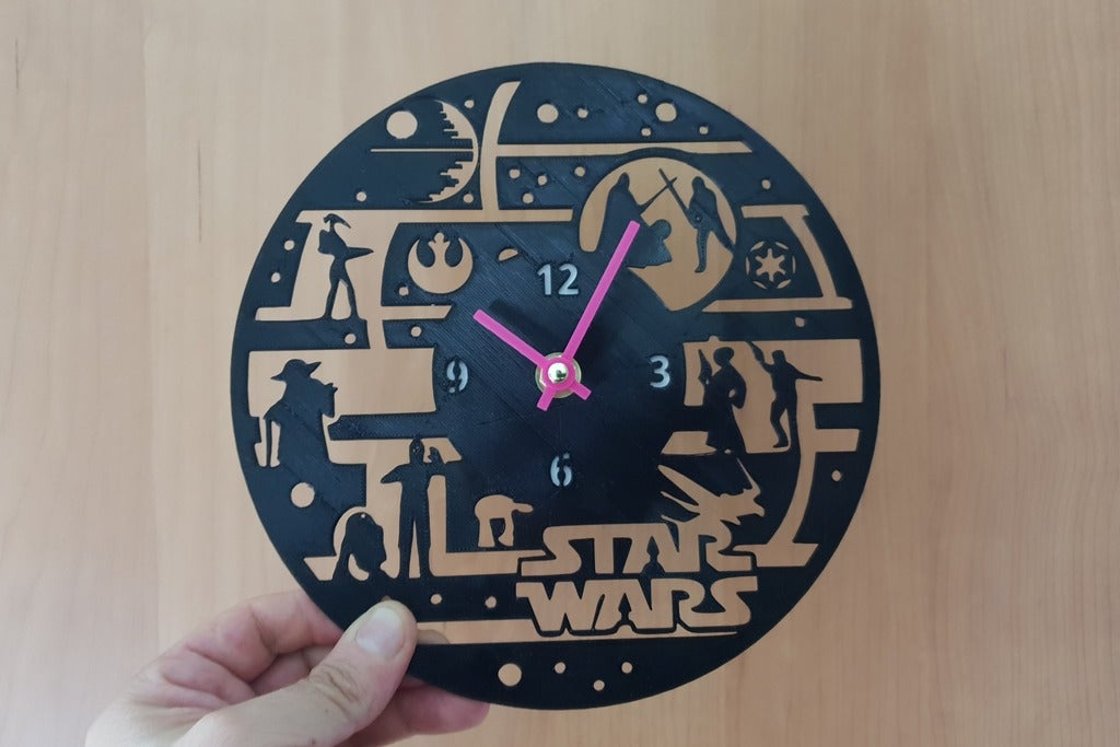 e17f7cef63df403484074f146a5e9c75_display_large.jpg Télécharger fichier STL gratuit Reloj Star Wars • Modèle à imprimer en 3D, 3dlito