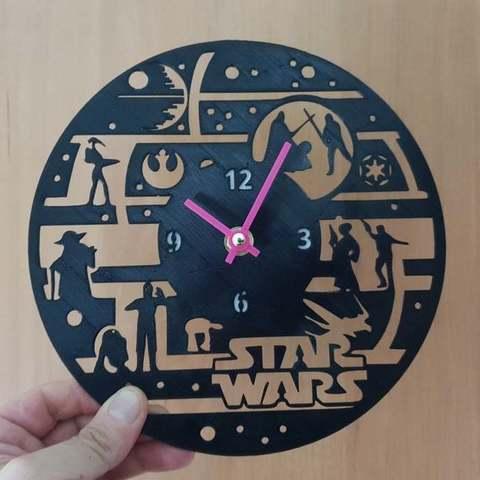 Télécharger modèle 3D gratuit Reloj Star Wars, 3dlito