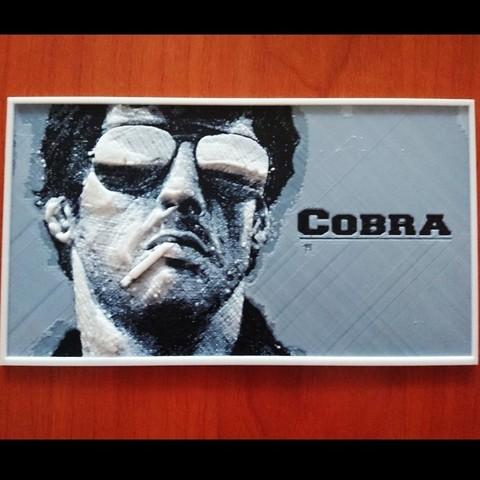 Download free 3D print files Cobra Placa, 3dlito