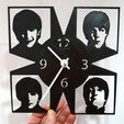 dee890ca438e767405ead5da2044891d_display_large.jpg Download free STL file Reloj Beatles • Model to 3D print, 3dlito