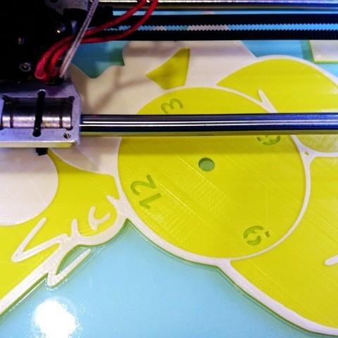 bbd4994c74eac58c33dbfec5b55bd9f7_display_large.jpg Download free STL file Reloj Homer Simpson • Model to 3D print, 3dlito