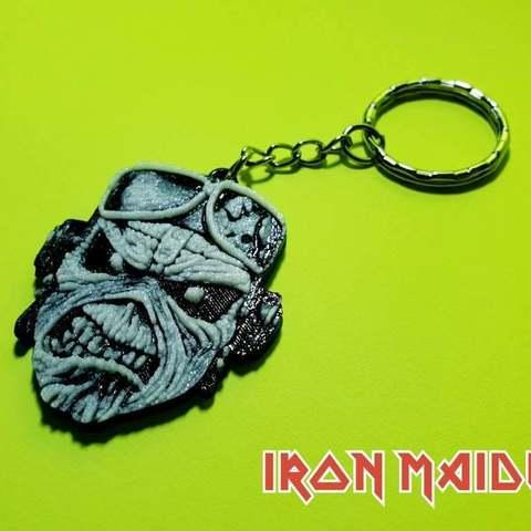 65f5083d964b06804bd5fdf437ad7433_display_large.jpg Download free STL file Llavero Iron Maiden • 3D printing design, 3dlito