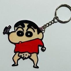 Free 3D model shin chan keychain, 3dlito