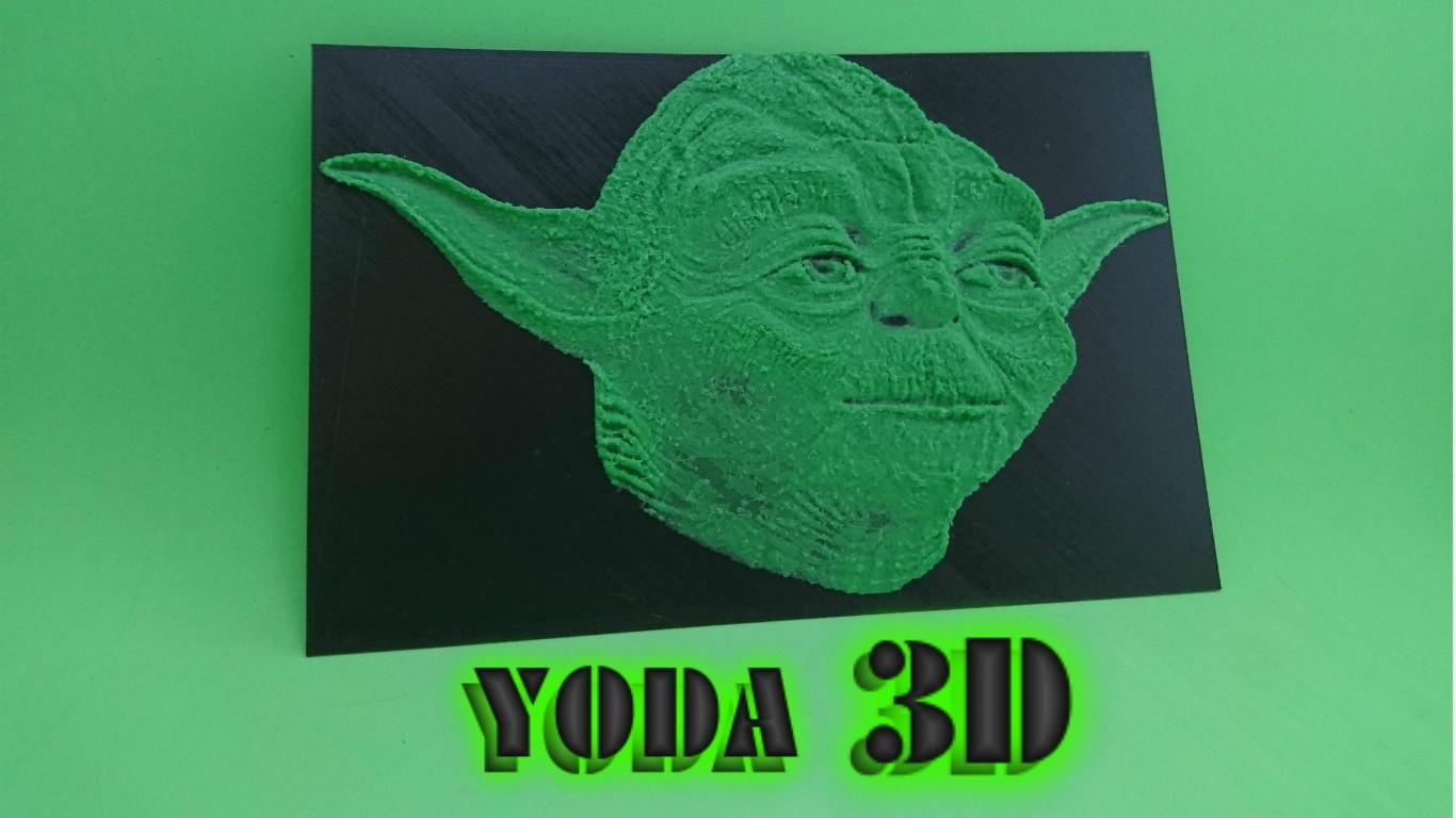 YODA.jpg Télécharger fichier STL gratuit YODA dessin 3D (STAR WARS) • Objet pour impression 3D, 3dlito