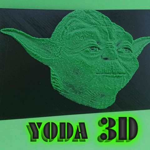 Download free 3D printing files 3D YODA DRAWING (STAR ​​WARS), 3dlito