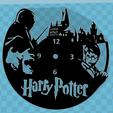 Descargar modelo 3D Reloj Harry Potter, 3dlito