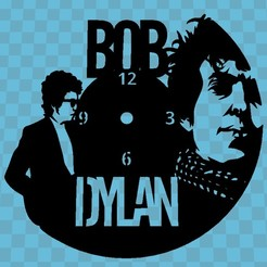 Download free 3D printer model Bob Dylan Watch, 3dlito