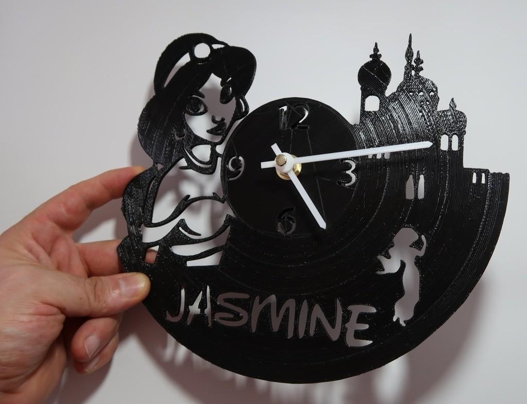 bdb5234842e50f3ce45d904c7b488b63_display_large.jpg Télécharger fichier STL gratuit Reloj Jasmin (VERSIONS X3) • Modèle à imprimer en 3D, 3dlito