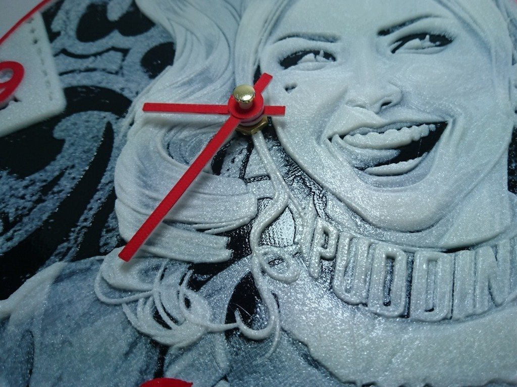 d30e95c596ddaa1a6f0d6e168ef83141_display_large.jpg Download free STL file Reloj harley quinn • 3D printing template, 3dlito