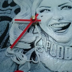 Free 3D printer files Reloj harley quinn, 3dlito