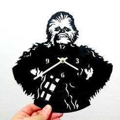 Download free 3D printer designs Reloj Chewbacca, 3dlito
