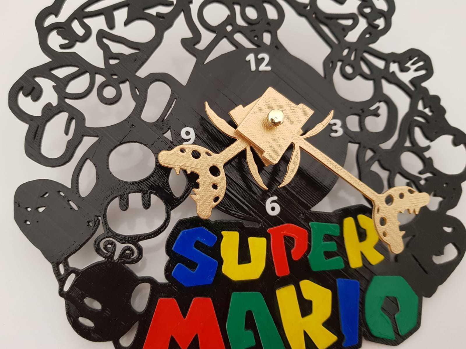 IMG-20180815-WA0052.jpg Télécharger fichier STL Super Mario Horloge • Design à imprimer en 3D, 3dlito