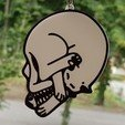 Untitled_design1.jpg Download free STL file keychain skull cat • 3D print object, 3dlito