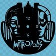 Sin Título.jpg Download free STL file Metropolis Clock • Template to 3D print, 3dlito