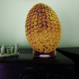 Download free 3D printer designs Game of Thrones 3D Dragon Egg, 3dlito