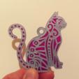 Capture d'écran 2018-04-27 à 12.01.55.png Download free STL file Cat key ring • 3D print design, 3dlito