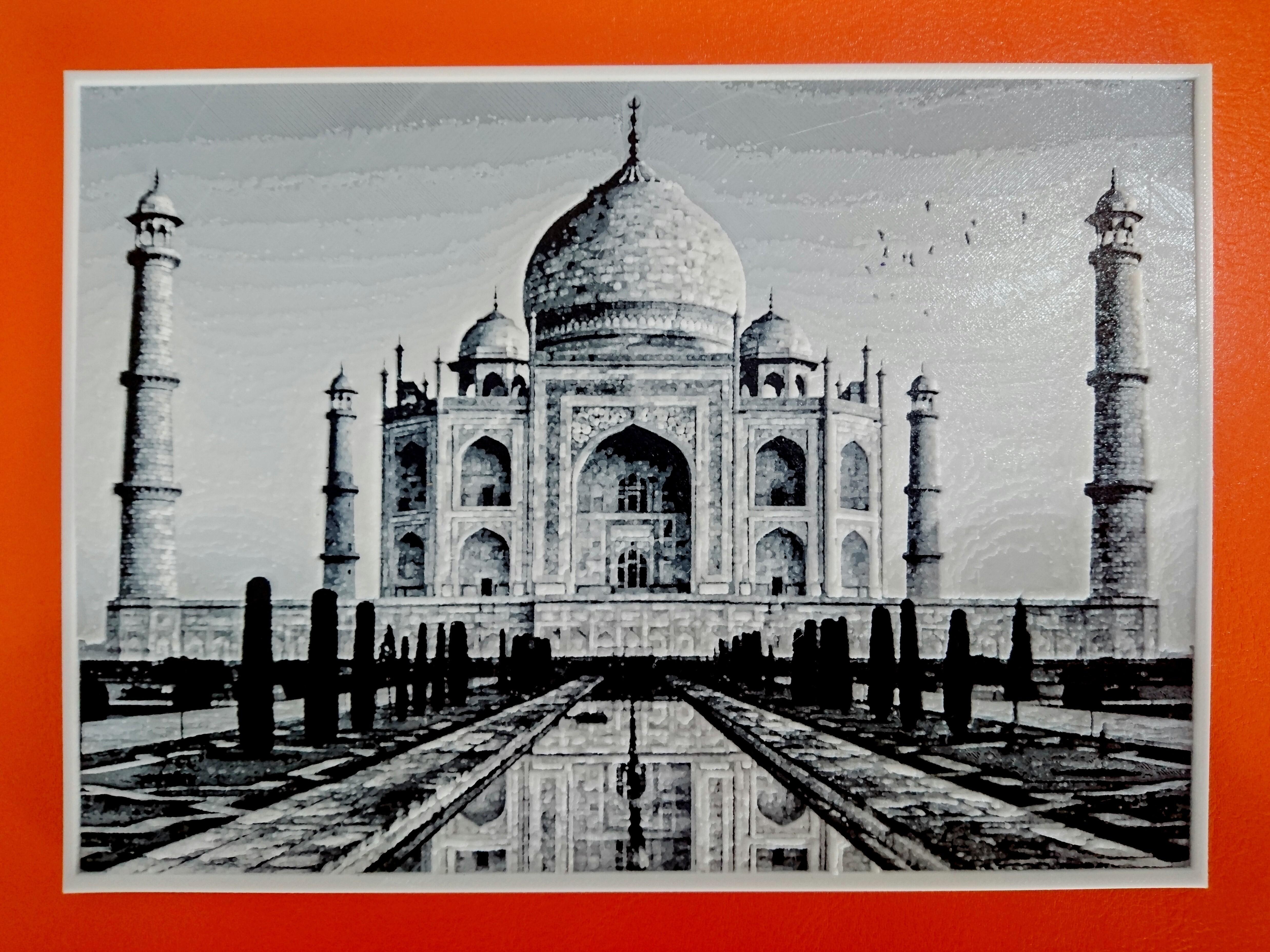 photostudio_1509460753273.jpg Télécharger fichier STL gratuit Dibujo3D TAJ MAHAL • Design imprimable en 3D, 3dlito