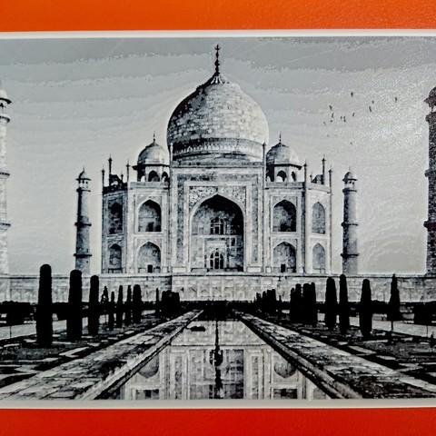 Modelos 3D para imprimir gratis Dibujo3D TAJ MAHAL, 3dlito