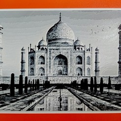 Download free STL file Drawing3D TAJ MAHAL • 3D printing object, 3dlito