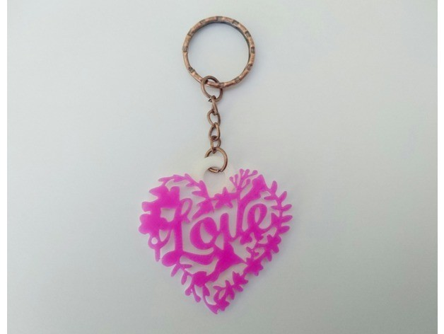 6ac81f3a5e7a85116bd384be06fdd5f0_preview_featured.jpg Download free STL file Love key ring • 3D printer template, 3dlito