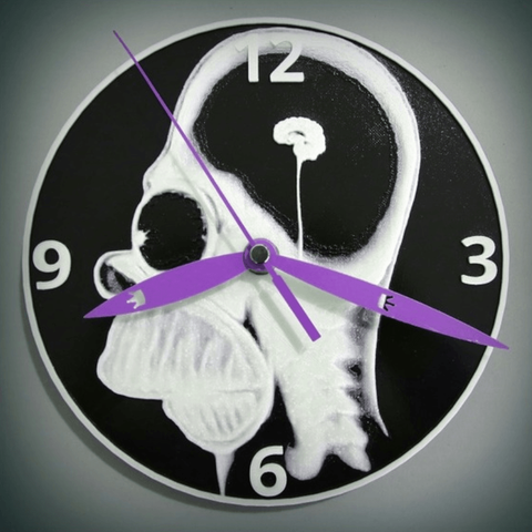Download free STL files Homer3D watch, 3dlito