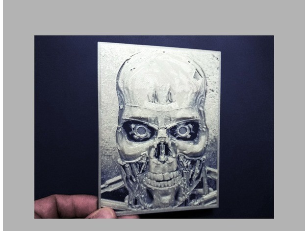 ce9f21995adfc3e025b7f945a3b3c24a_preview_featured.jpg Télécharger fichier STL gratuit Terminator dessin 3D • Modèle imprimable en 3D, 3dlito