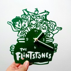 3d print files The Flintstones Clock, 3dlito