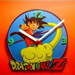 Télécharger plan imprimante 3D gatuit Reloj Dragon Ball Z, 3dlito
