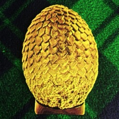 Free 3d printer designs Game of Thrones 3D Dragon Egg, 3dlito