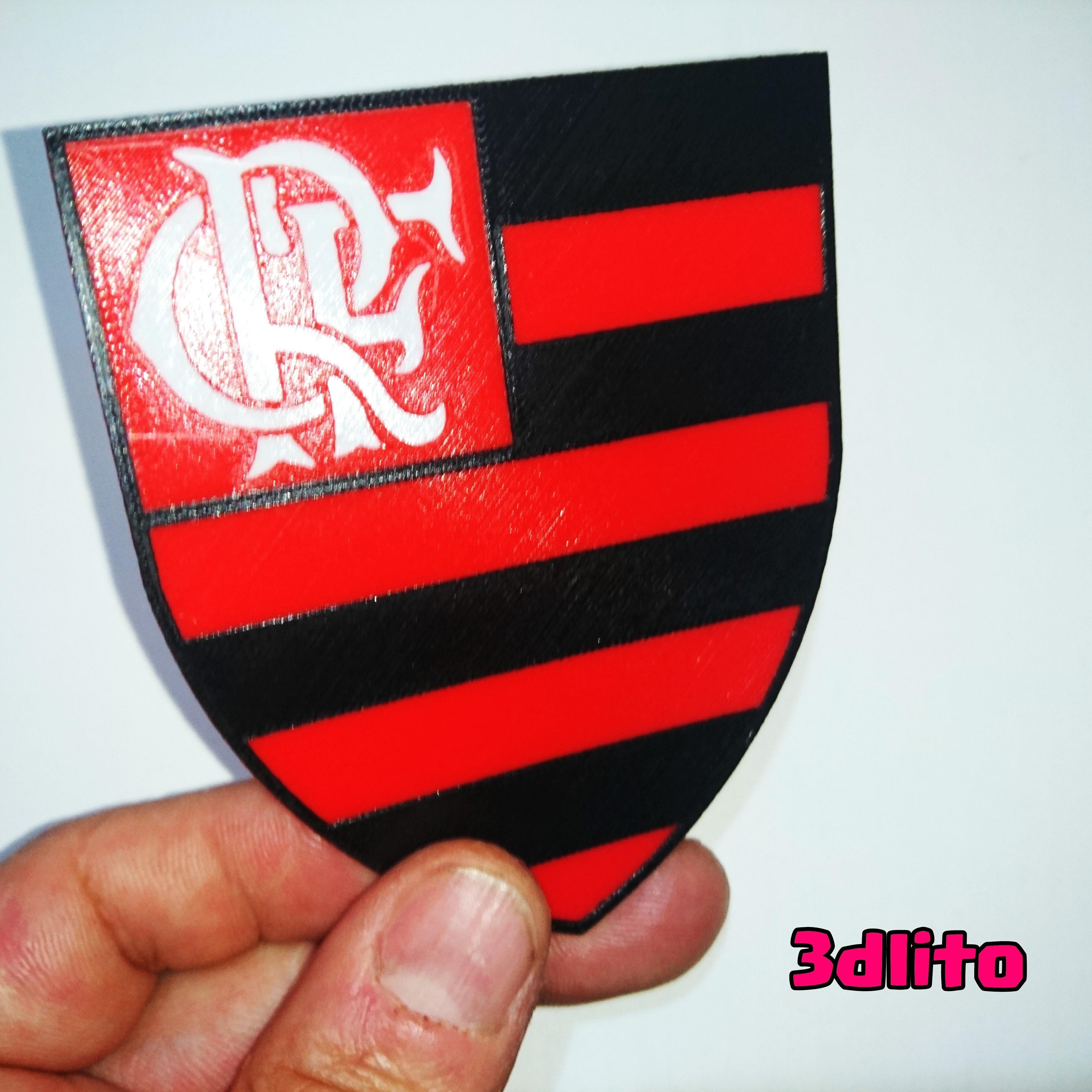 photostudio_1493538563873.jpg Download free STL file Flamenco Shield 3 colors • 3D printer template, 3dlito