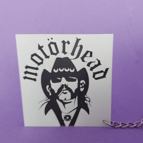Download free 3D printer templates Motorhead Keychain, 3dlito