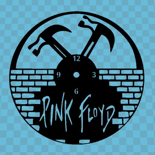 Download free STL file PINK FLOID WATCH, 3dlito