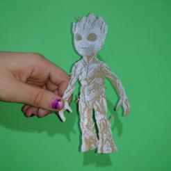 Download free STL file Baby groot 3D • 3D print model, 3dlito