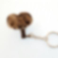 Download free STL E.T. keychain, 3dlito