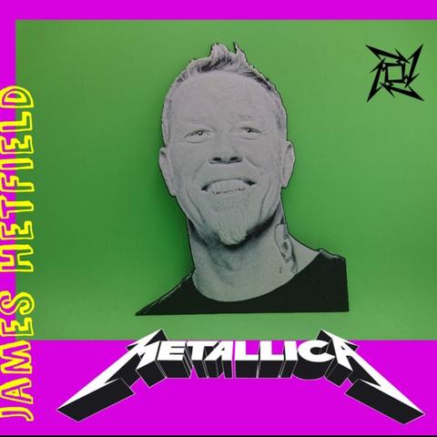 Capture d'écran 2017-06-20 à 09.40.25.png Download free STL file Metallica 3D DRAWING • 3D print object, 3dlito