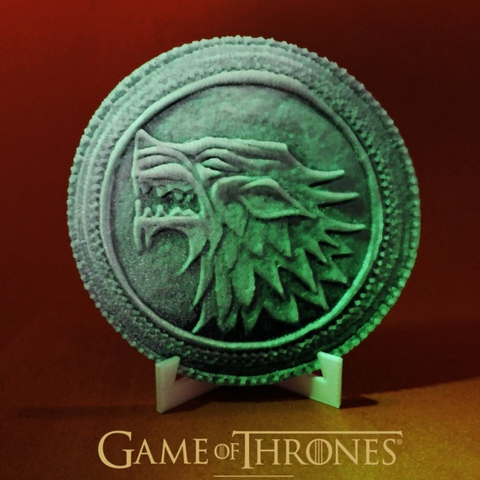 Download free 3D printing designs Game Of Thrones coin, 3dlito