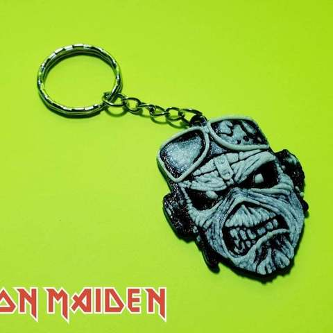 264476fb8acd2e0214d9c10893f573b9_display_large.jpg Download free STL file Llavero Iron Maiden • 3D printing design, 3dlito