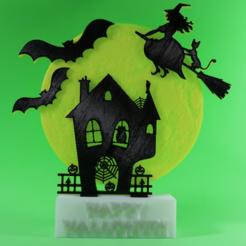 Free STL Happy Halloween, 3dlito