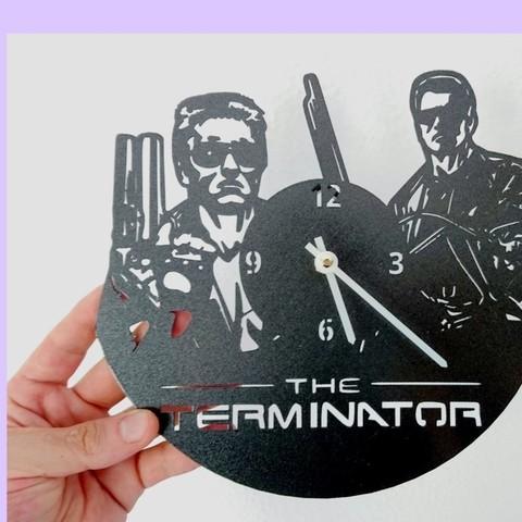 Free stl Reloj Terminator, 3dlito