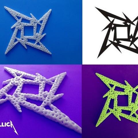 c4051f9d307f10bf1290e42466107401_display_large.jpg Télécharger fichier STL gratuit Voronoi MetallicA logo • Plan pour imprimante 3D, 3dlito