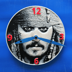 Free STL files Pirates of the Caribbean Watch 3D, 3dlito