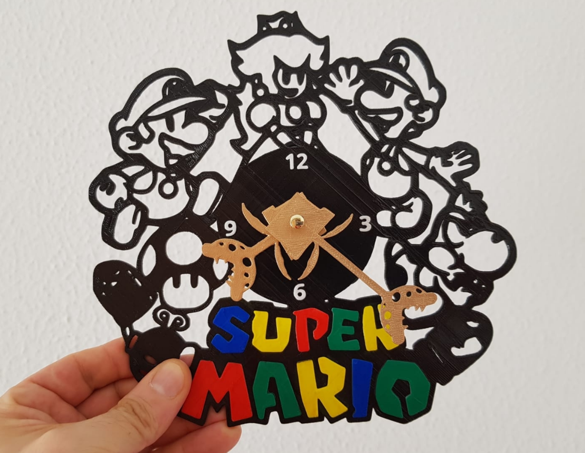 Sin Título(223).png Télécharger fichier STL Super Mario Horloge • Design à imprimer en 3D, 3dlito