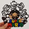 3D printing model Super Mario Clock, 3dlito