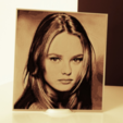 Free 3d model Vanessa Paradis 3D Drawing, 3dlito
