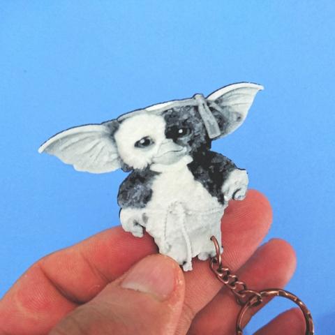 Download free STL file Gizmo GREMLINS Keychain • 3D printable model, 3dlito