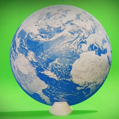 Free 3D printer model The 3D Embossed World, 3dlito