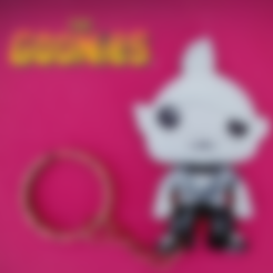 goonies_chocolate1.stl Download free STL file Sloth Fratelli Keychain • 3D printing object, 3dlito